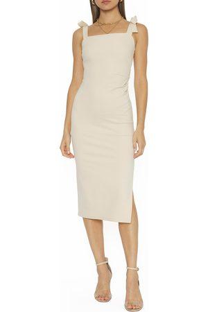 4SI3NNA Women Midi Dresses - Women's Julissa Tie Shoulder Midi Dress