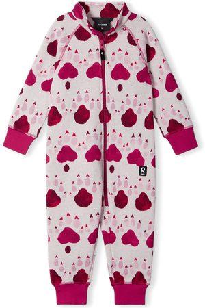 Reima Girls T-shirts - Infant Girl's Myytti Print Fleece Romper