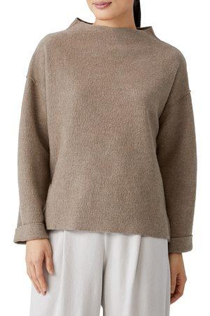 Eileen Fisher Women Tops - Women's Boiled Wool Box Top