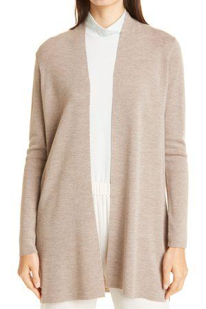 Eileen Fisher Women's Merino Straight Long Cardigan