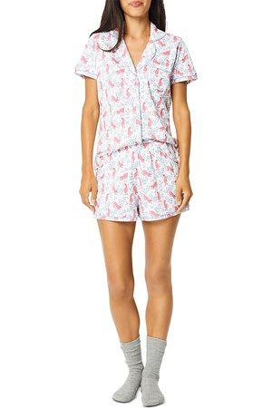 Roller Rabbit Cheetah Garden Pajama Shorts Set