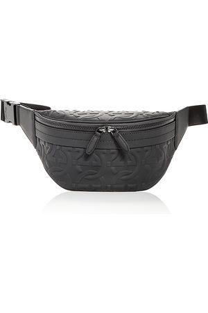 Salvatore Ferragamo Brooklyn Logo Embossed Leather Belt Bag