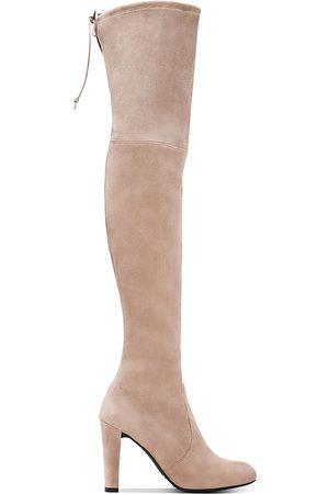 Stuart Weitzman Women's Highland High Heel Over The Knee Boots
