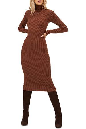 ASTR Abilene Ribbed Sweater Dress