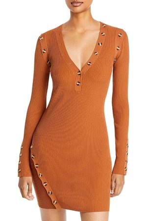 Nicholas Jackie Rib Knit Mini Dress