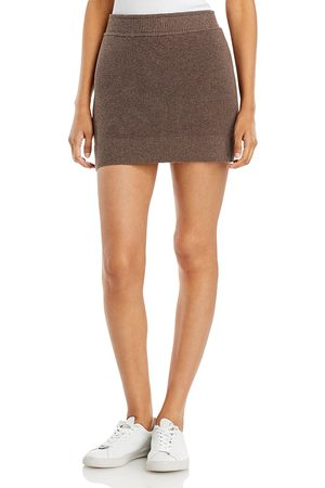 MONROW Knit Mini Skirt