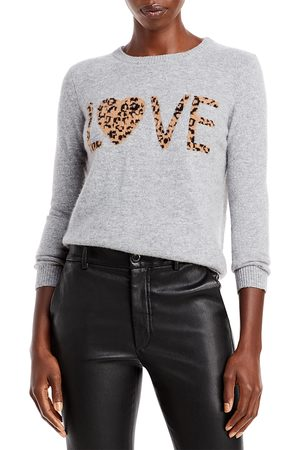 Chelsea & Theodore Cashmere Graphic Sweater (64% off) - Comparable Value $248