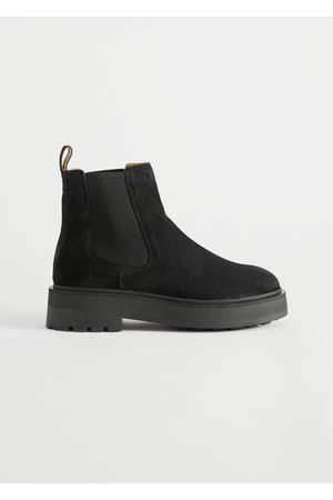 & OTHER STORIES Women Chelsea Boots - Chunky Chelsea Suede Boots