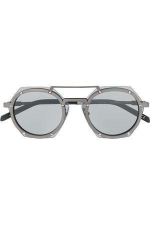 HUBLOT Geometric lens tinted glasses - Grey