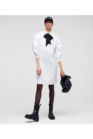 Karl Lagerfeld Women Tunic Dresses - KARL BY KARL POPLIN TUNIC