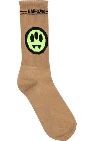 BARROW Men Socks - Mono Logo Cotton Blend Socks