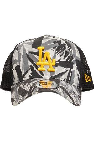 New Era Men Caps - La Dodgers Camo A-frame Trucker Cap