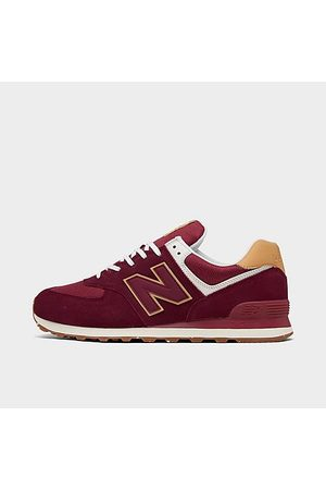 New Balance Men's 574 Casual Shoes in /Garnet Size 7.5 Suede