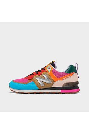 New Balance Men Casual Shoes - Men's 574 Casual Shoes Size 7.5 Suede