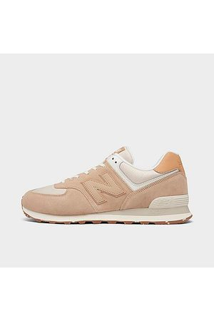 New Balance Men Casual Shoes - Men's 574 Casual Shoes in Beige/Tan Size 7.5 Suede
