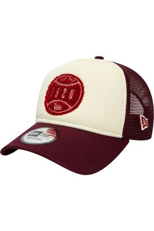 New Era Men Caps - Circle Patch A-frame Trucker Cap