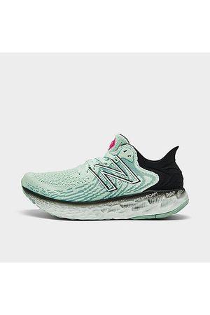New Balance Women Running - Women's Fresh Foam 1080v11 Running Shoes in Green/Helium Size 6.0