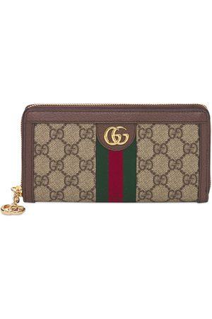 Gucci Women Wallets - Ophidia Gg Supreme Zip Around Wallet