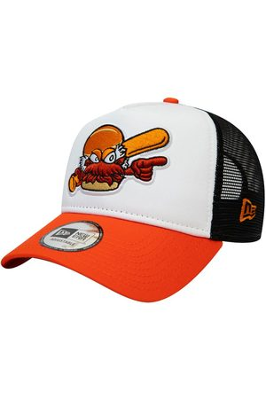 New Era Ml Charlotte Knights A-frame Trucker Hat