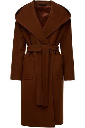 Tagliatore 0205 Daisy Wool & Cashmere Hooded Coat