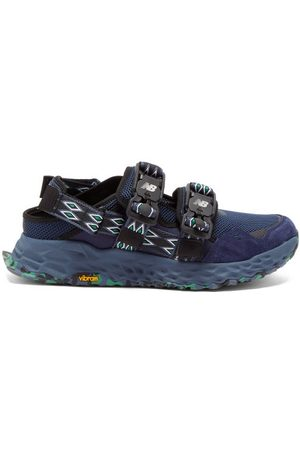 New Balance X Tokyo Design Studio Men Sandals - Niobium C2 Suede And Mesh Trail Sandals - Mens - Navy