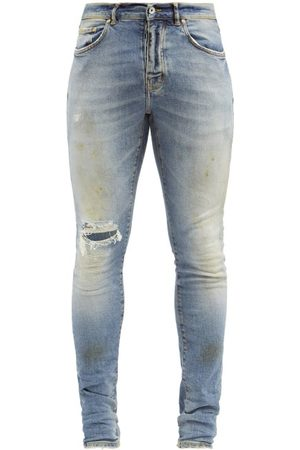 Purple Brand Men Slim - P001 Distressed Slim-leg Jeans - Mens