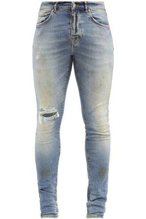 Purple Brand P001 Distressed Slim-leg Jeans - Mens