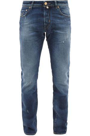 Jacob Cohen Men Slim - Nick Distressed Slim-leg Jeans - Mens