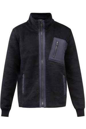 Belstaff Men Fleece Jackets - Herne Fleece Jacket - Mens - Navy