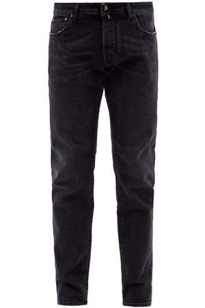 Jacob Cohen Nick Slim-leg Jeans - Mens - Dark Grey