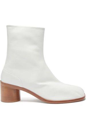 Maison Margiela Tabi Split-toe Leather Ankle Boots - Mens