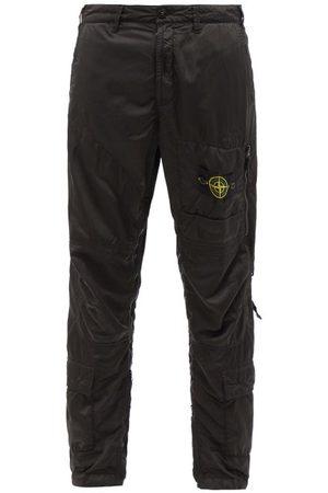 Stone Island Men Cargo Pants - Logo-patch Shell Cargo Trousers - Mens