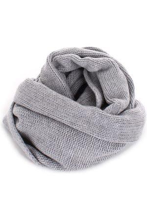BARBA Men Scarves - Scarves Men Grey Cashmere