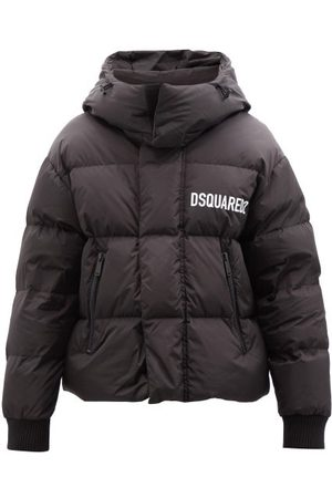 Dsquared2 Kenny Logo-print Quilted Jacket - Mens