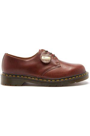 Dr. Martens Men Formal Shoes - 1461 Leather Derby Shoes - Mens - Tan