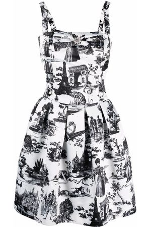 Philipp Plein Women Party Dresses - En Plein Air print mini dress