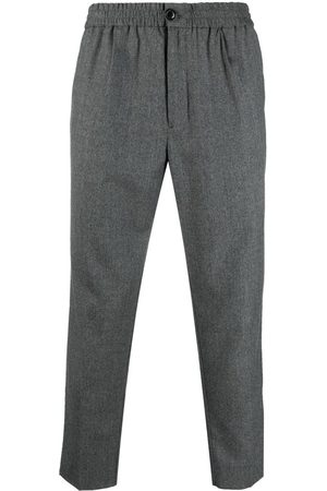Ami Cropped track pants - Grey