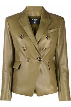Balmain Women Blazers - Buttoned double-breasted blazer