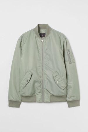 H&M Men Bomber Jackets - Nylon Bomber Jacket