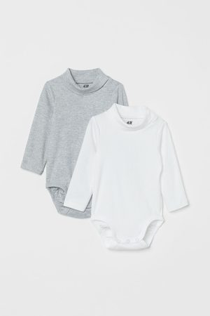 H&M Kids Turtlenecks - 2-pack Turtleneck Bodysuits