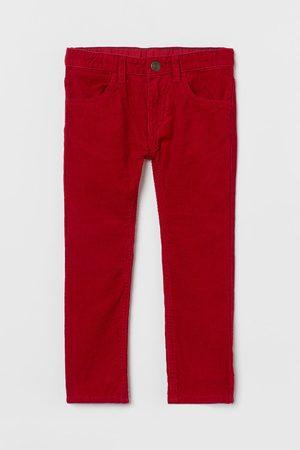 H&M Kids Slim - Slim Fit Corduroy Pants