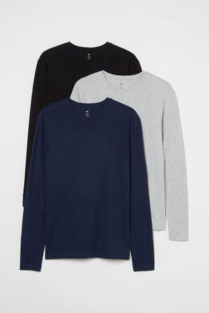 H&M Men Shirts - 3-pack Shirts Slim fit