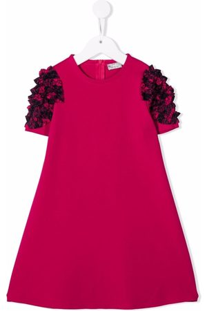 Il gufo Girls Casual Dresses - Ruched-detailed dress