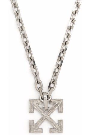 OFF-WHITE Men Necklaces - Industrial Arrow pendant necklace