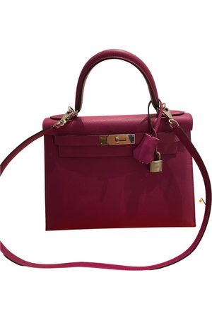 Hermès Kelly 28 leather handbag
