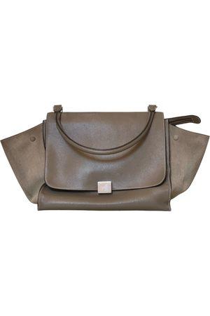 Céline Trapèze leather handbag