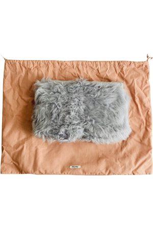 Miu Miu Miu Crystal leather handbag