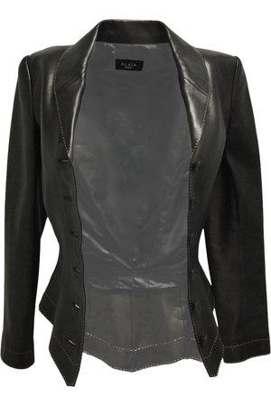 Alaïa Women Leather Jackets - Leather jacket