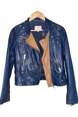 Essentiel Antwerp Leather biker jacket
