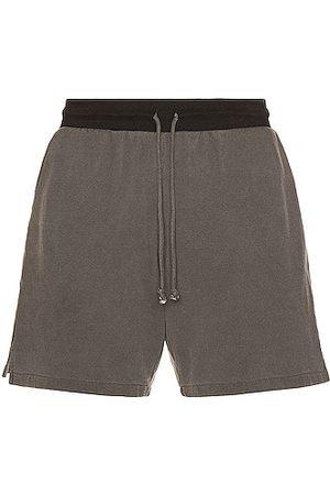 JOHN ELLIOTT 1992 Shorts in Charcoal